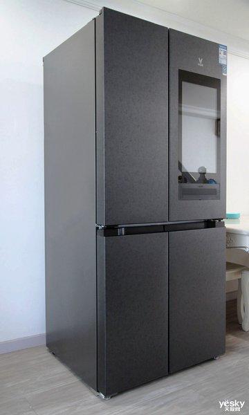 云米互联网大屏冰箱21Face母婴款外观设计