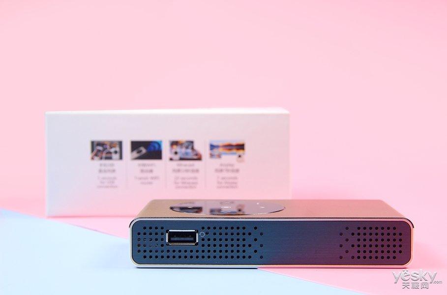 小巧轻便多功能集于一身 网时代M6便携式投影图集SHOW