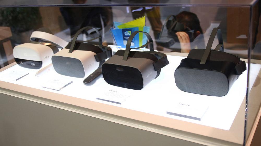 CES2019:走进Pico展台,看4K VR一体机