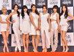 女团AOA一袭白裙出席发布会 清纯美貌超吸睛-韩国女明星