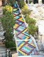 17个全世界最别具匠心的的艺术楼梯_猎奇图片
