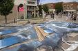世界上最大街头3D立体画_创意趣图
