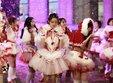 SNH48零下10度拍MV 露雪肌蛮腰美丽冻人_娱乐组图