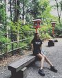 辣妈张子萱游日本 大秀长腿美似少女_中国女明星