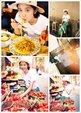 唐艺昕嗨玩意大利享受美食 笑容甜美超迷人_中国女明星