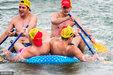 澳慈善充气艇比赛 民众画风辣眼睛登场_猎奇图片