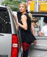 美国第一千金伊万卡颜正腿长衣品高 上车优雅回眸于无形_娱乐组图