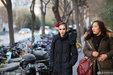 北京舞蹈学院艺考进行时 考生带舞台妆上阵十分靓丽_娱乐组图