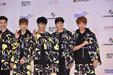 BTOB迷彩装扮现身发布会 气场十足超有型_韩国男明星