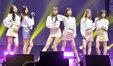 APINK新歌发布会人气火爆 名不虚传的大势女团!_韩国女明星