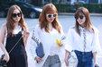 APINK清爽街拍 张张都是大片_韩国女明星