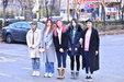 EXID高清街拍 人美腿长_韩国女明星