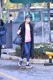 EXID组合高清街拍 随性简约却不失时尚态度_韩国女明星