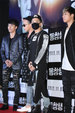 BIGBANG亮相发布会 酷冷有型令粉丝尖叫_韩国男明星