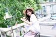 金所炫夏日写真大片 青春洋溢笑容满分_韩国女明星