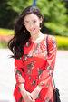 张柏芝红裙写真曝光 优雅时尚展夏日风情_中国女明星