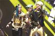 BIGBANG演唱会现场超燃 引摇滚风暴_韩国男明星