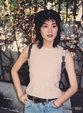 王菲25年前旧照曝光 透着一股不寻常的灵气_中国女明星