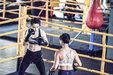 """蒋璐霞蜜拳击训练火力""""拳""""开 大秀好身材_娱乐组图"""