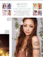 安室奈美惠再登《MORE》封面 一袭白裙超美_广告大片