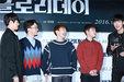 EXO接受采访 与主持人有说有笑心情大好_韩国男明星