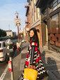 汤晶媚最新假日大片曝光 散发慵懒与闲适魅力_娱乐组图