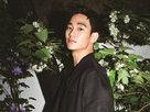 人气偶像金秀贤帅气时尚写真 大长腿真是逆天-韩国男明星