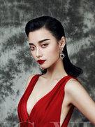 写真拍摄复古风潮 浓妆艳抹 中国风-中国女明星