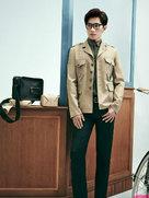 芭莎男士 杨洋 写真街拍大片 演绎初秋随性时尚-广告大片
