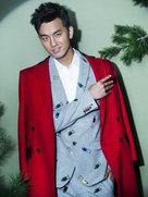 于��圣诞主题写真曝光-中国男明星