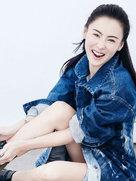 美得发光!张柏芝开年封面肤白胜雪-中国女明星