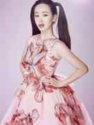 """张定涵曝""""蝶恋花""""梦幻写真 展春日双重魅力-中国女明星"""