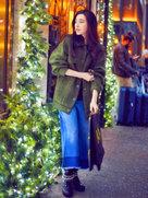乍暖还寒!范冰冰春季潮搭街头漫步【高清组图】-中国女明星