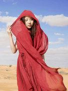 刘美麟深入撒哈拉 吟唱《橄榄树》-中国女明星