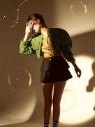 宋佳再登杂志封面 蕾丝睡衣诠释别样慵懒风-中国女明星