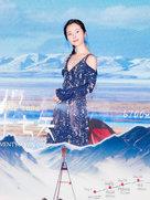 江一燕挑战6700米极地拍摄:高原红也很可爱-中国女明星
