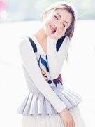 吴倩曝初夏look  清纯无敌秒回少女时代-中国女明星