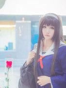 摄影动漫 路人女主的养成方法 霞之丘诗羽-cosplay女生