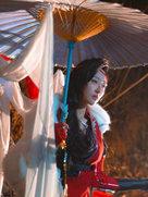 剑网3 风骨霸刀 恶人刀娘 走过三生路终老恶人谷-cosplay女生