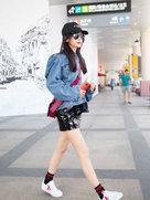 Angelababy复出造型集锦  少女感一直在线-中国女明星