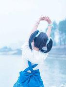 海军未觉醒 矢泽妮可【和nico一起去海边吹吹风吧】-cosplay女生