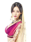 柳岩天竺舞娘宣传照曝光 轻拧腰肢魅惑甜笑-中国女明星
