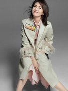刘涛登杂志封面秀美腿 这样的安迪很魅惑-中国女明星