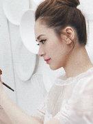 钟欣潼拍摄时尚大片尽显花漾女神范儿 一袭白裙仙气十足-中国女明星