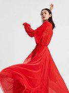 穿越现代来尬舞!刘芸夏日写真裙舞飞扬-中国女明星
