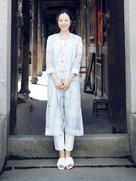 江一燕这组照片简直不要太文艺!-中国女明星