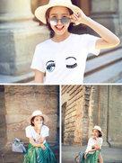 唐艺昕嗨玩意大利享受美食 笑容甜美超迷人-中国女明星