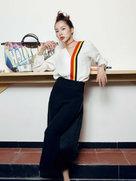 童苡萱拍摄的一组时尚大片新鲜出炉 俏皮灵动-中国女明星