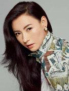 张柏芝登封面优雅迷人 气场强大-中国女明星