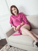 韩国摄影明星气质写真秀美腿-韩国女明星